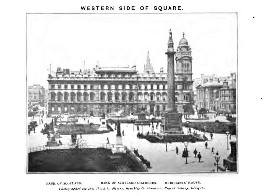 Glasgow's George Square until 1900