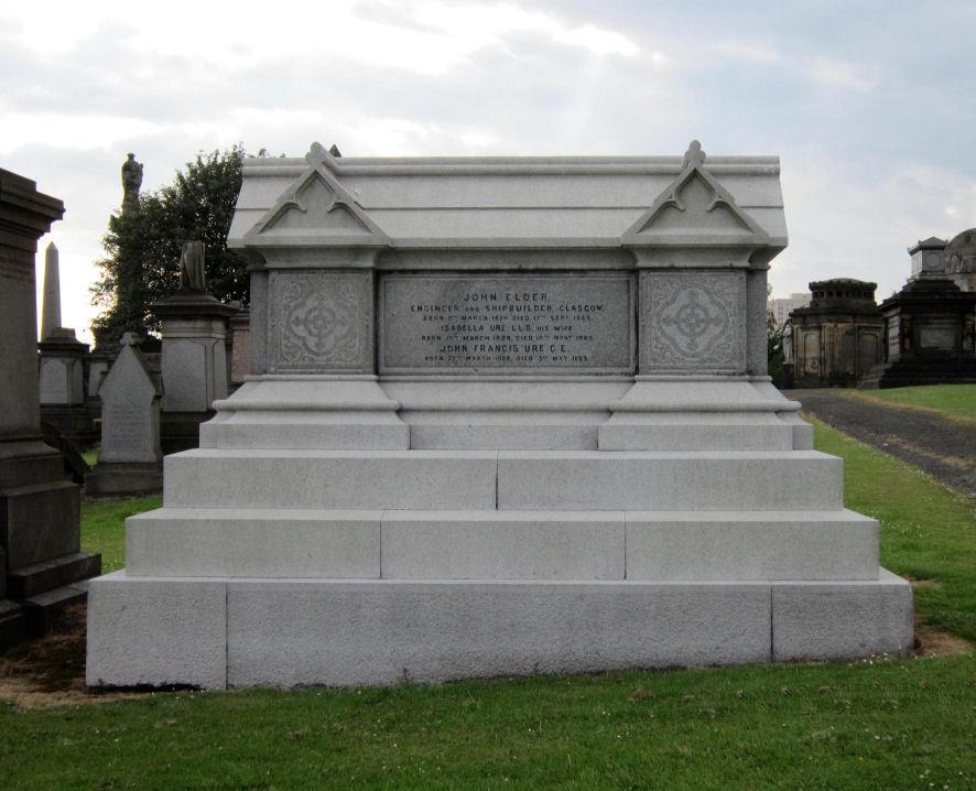 Isabella and John Elder Grave