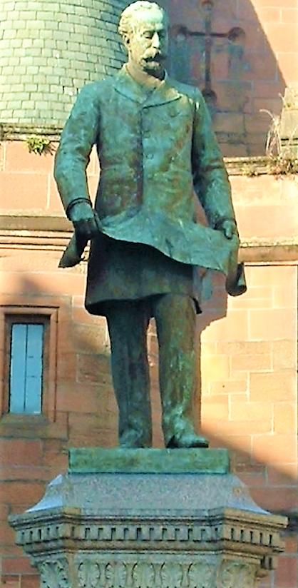 William Pearce Statue